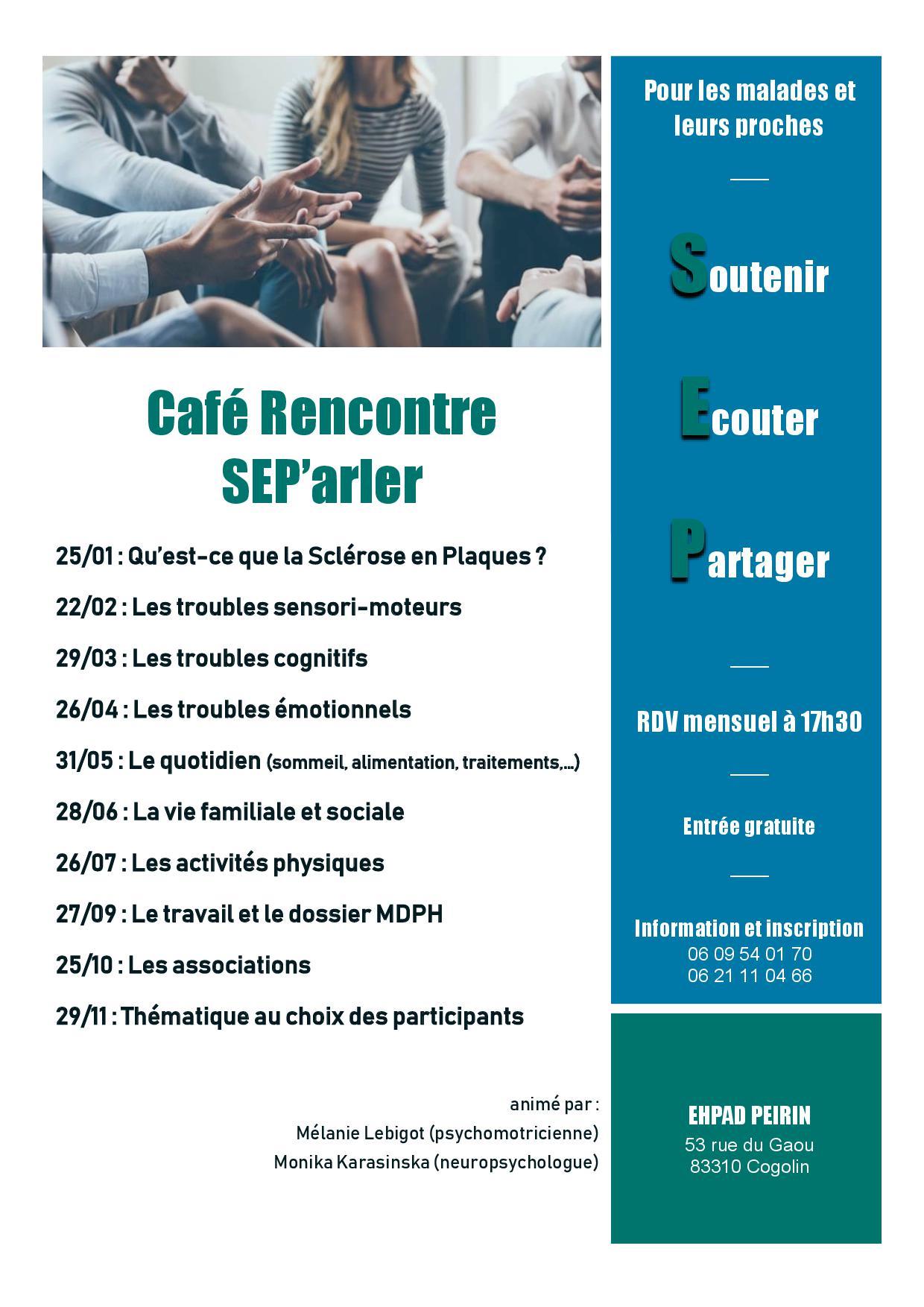Café rencontre SEP'arler
